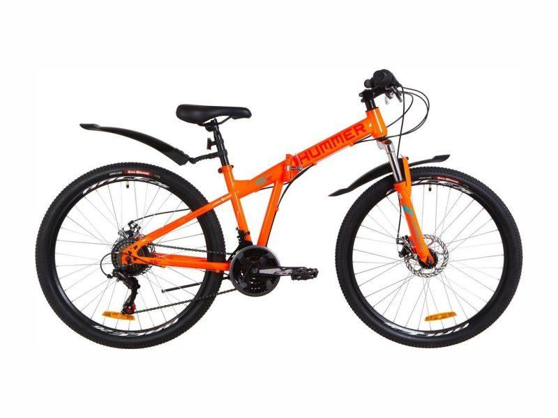 Велосипед Formula Hummer DD 26 orange-turquoise