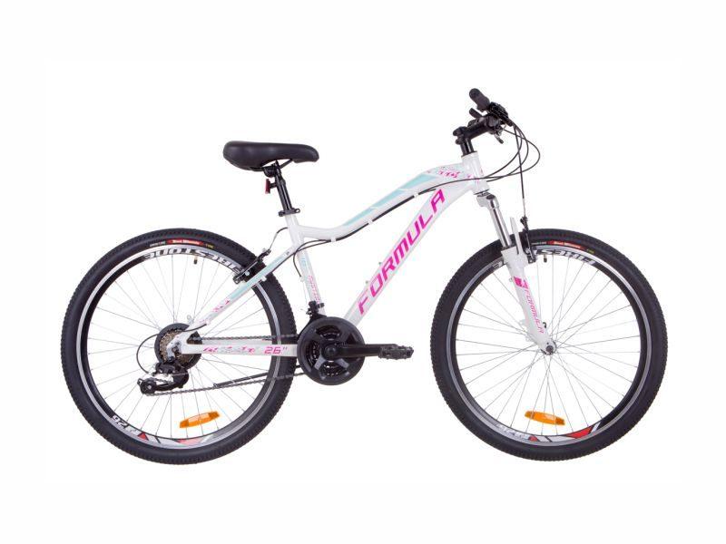 Велосипед Formula Mystique 2.0 Vbr 13.5 white-blue