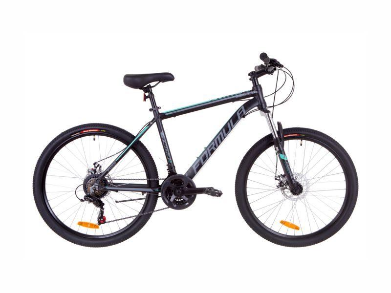 Велосипед Formula Thor 1.0 AM DD 14 black-grey