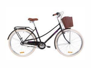 Велосипед Dorozhnik COMFORT FEMALE PH 28 black