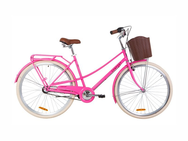 Велосипед Dorozhnik COMFORT FEMALE PH 28 peach