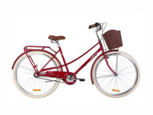 Велосипед Dorozhnik COMFORT FEMALE PH 28 ruby