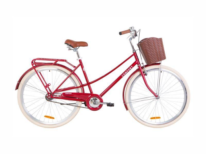 Велосипед Dorozhnik COMFORT FEMALE 28 ruby