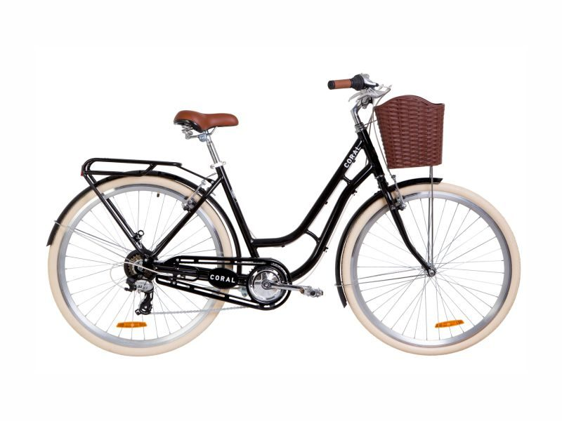 Велосипед Dorozhnik CORAL 28 black
