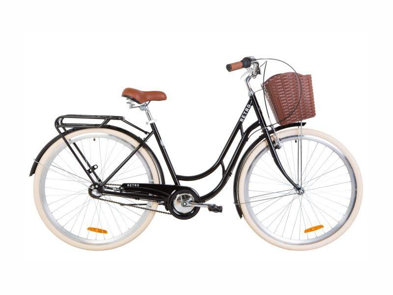 Велосипед Dorozhnik RETRO PH 28 black