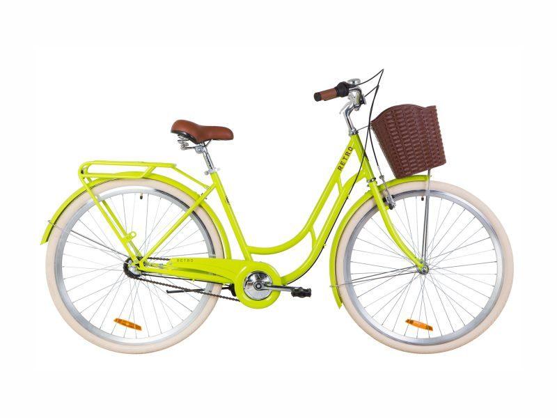 Велосипед Dorozhnik RETRO PH 28 lime