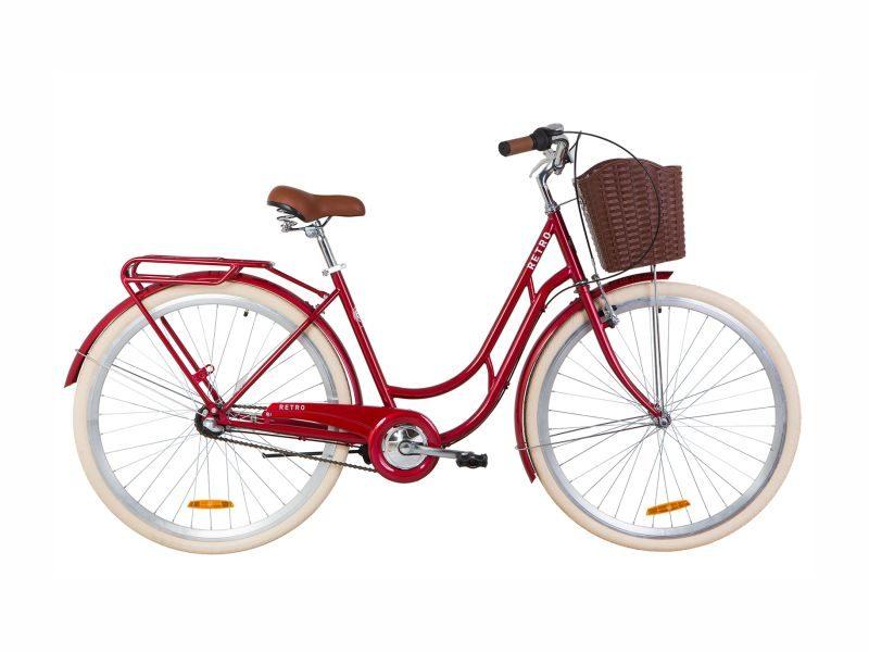 Велосипед Dorozhnik RETRO PH 28 ruby