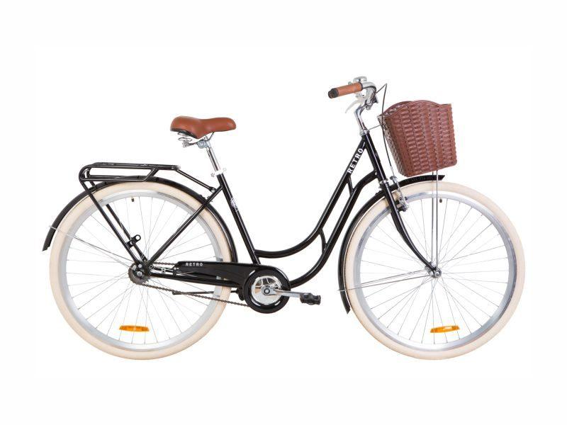 Велосипед Dorozhnik RETRO 28 black