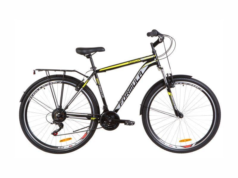 Велосипед Formula 28 Magnum Vbr black-yellow