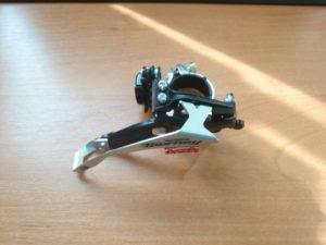 Переключатель передний Shimano Tourney FD-TY500, Top-Swing, хомут 31.8/34.9, 42Т