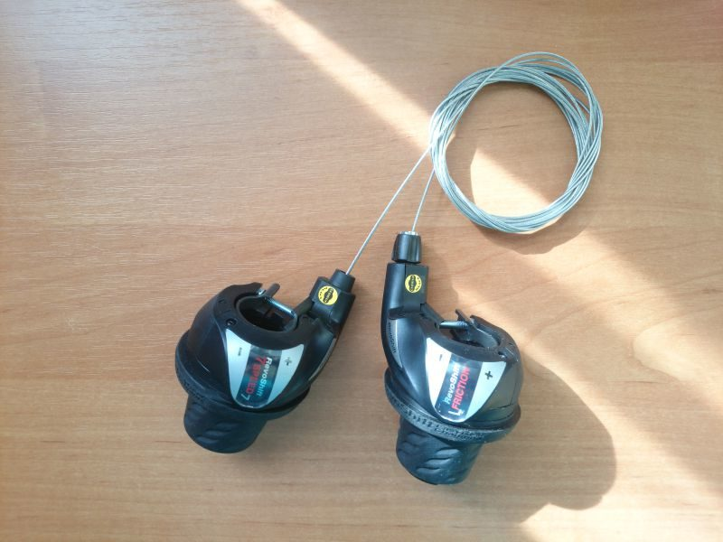 Манетки Shimano Tourney SL-RS36 7R-3L