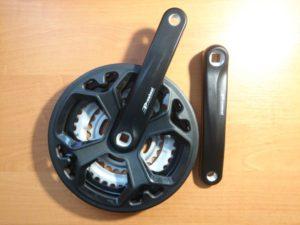 Комплект шатунов Prowheel CM02 48x38x28 170мм