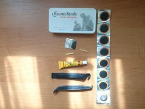 Ремонтный набор для велокамер