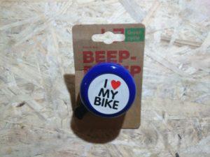 Звонок Green Cycle GCB-1051A-BK blue